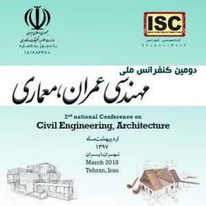 دومین کنفرانس ملی مهندسی عمران و معماری