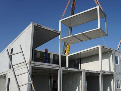 مقاوم سازی ساختمان بتنی پیش ساخته با FRP