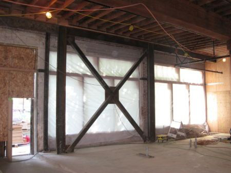 استفاده از روش افزودن قاب مهاربند شده فولادی در مقاوم سازی ساختمان۲ -تکنوپل