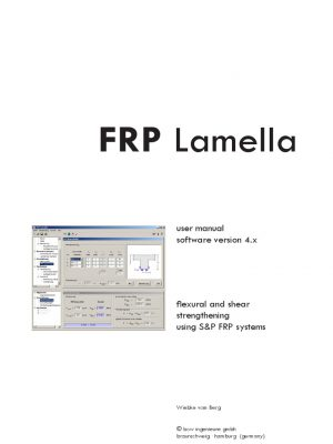 نرم افزار طراحی و محاسبات FRP lamella