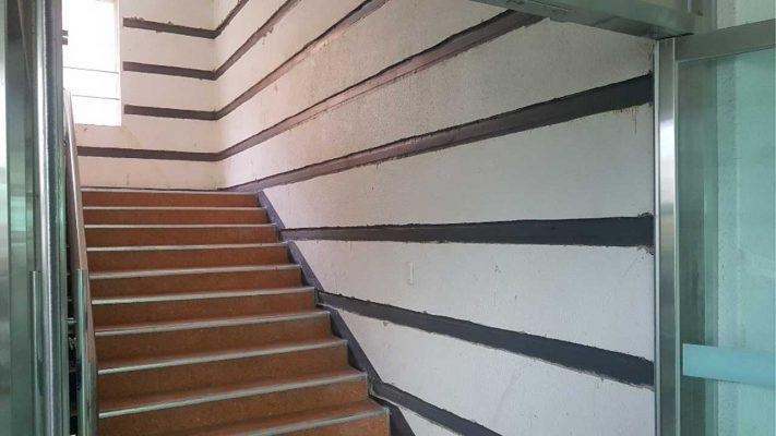 مقاوم سازی دیوار برشی ساختمان مسکونی با لمینیت FRP